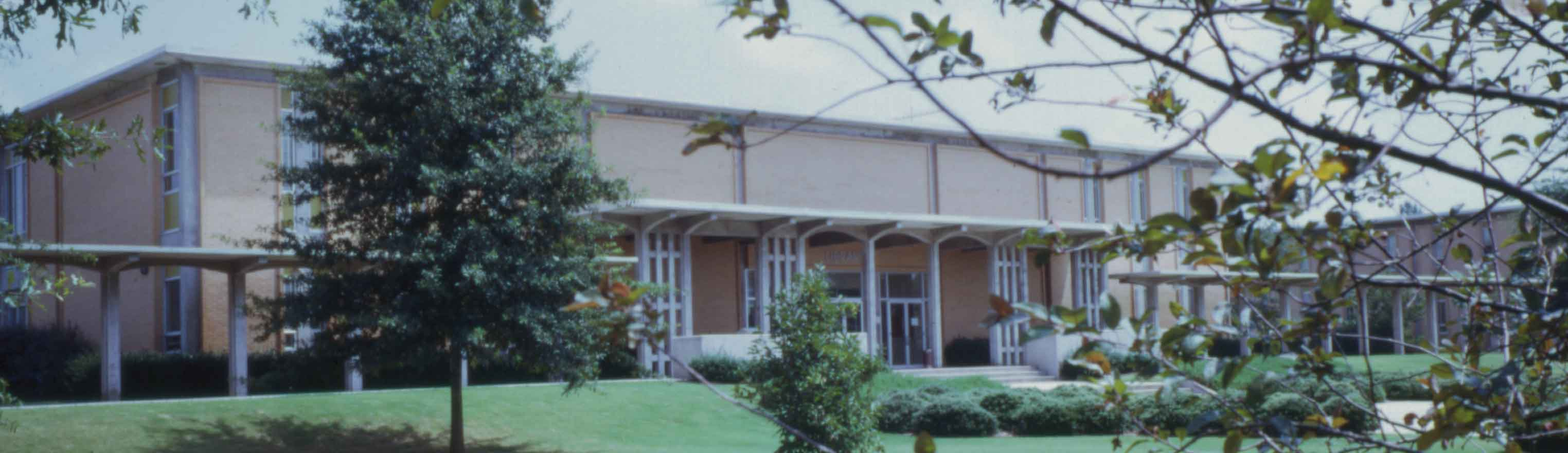 View of the Pilcher Building in the 1990s