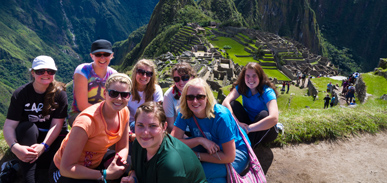 KSU students at Macchu Picchu, 2011